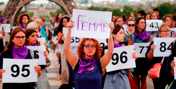149 woman killed by their partners in France: Development doesn't guarantee the end of sexism
