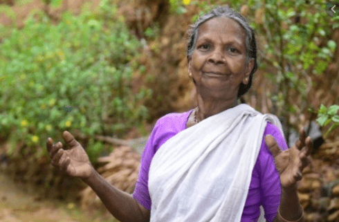 Lakshmikutty is a 75-year-old poison healer from India