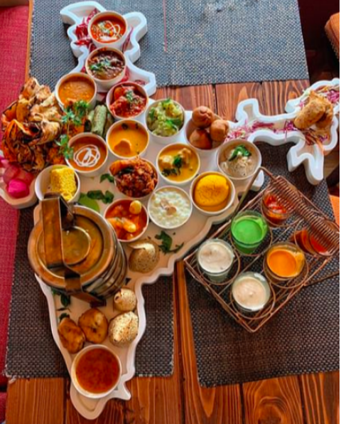 Rendezvous With Giant Indian Thalis': Get On The Journey of Sumptuous FOOD