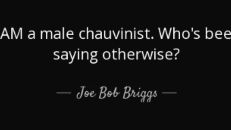 Perfect Rejoinders To Male Chauvinist Pigs