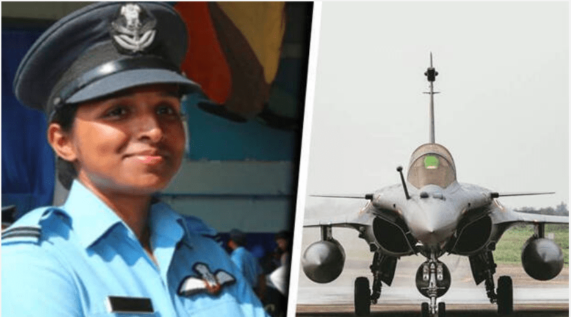 Flight Lieutenant Shivangi Singh created history by becoming first woman pilot to fly Rafale fighter aircraft