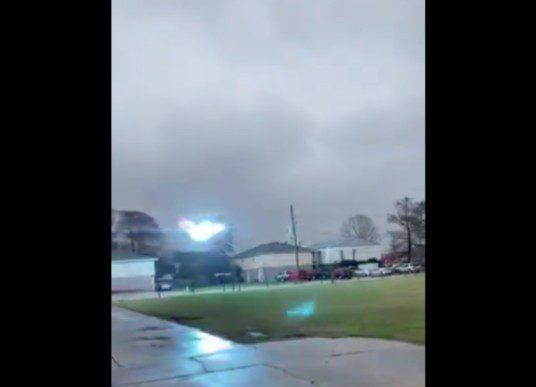 Video: Massive Power Surge in Louisiana