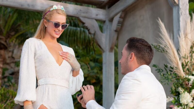 Paris Hilton is engaged to Carter Reum