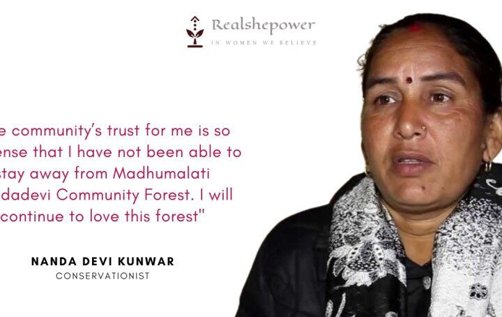 Meet Nanda Devi the brave lady who lost her hand while saving the forest