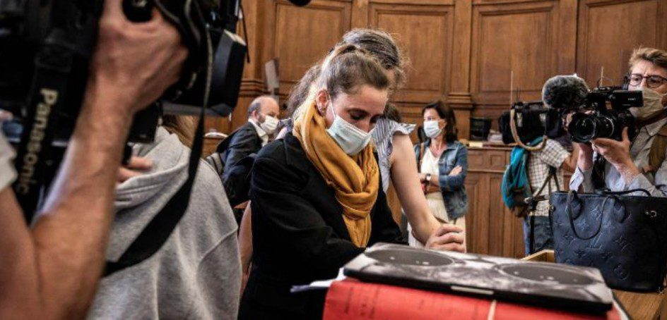 Valerie Bacot: goes on trial for killing her abusive husband in France