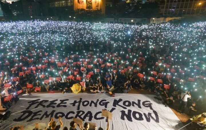 China's Draconian Law to Suppress the Voices of Freedom in Hong Kong