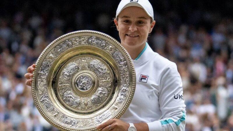 Meet Ashleigh Barty first Australian woman to win Wimbledon singles title in 41 years