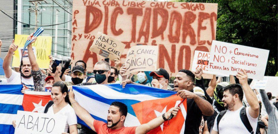 Cuba: 'I'm tired of being hungry'