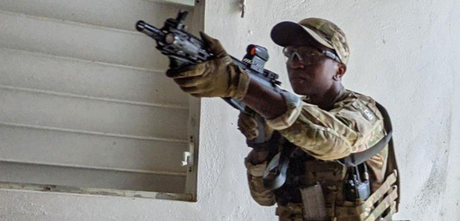 In a first, FBI selects a black woman to join the SWAT team