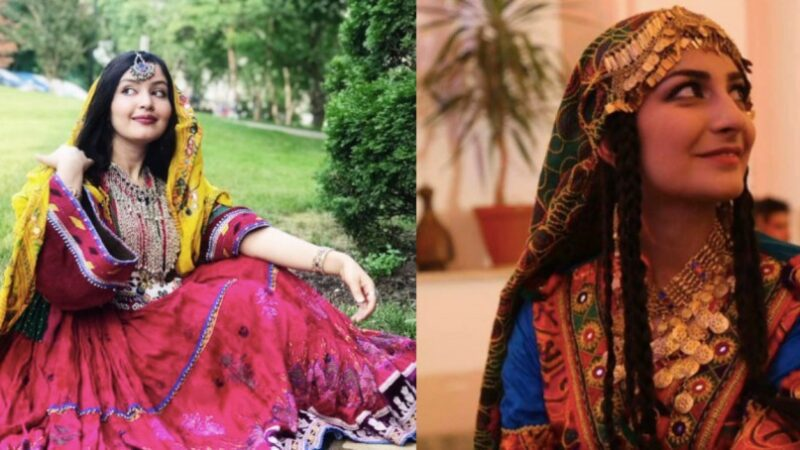 Afghan women in traditional attire tell Taliban Burqa is not a part of Afghan culture